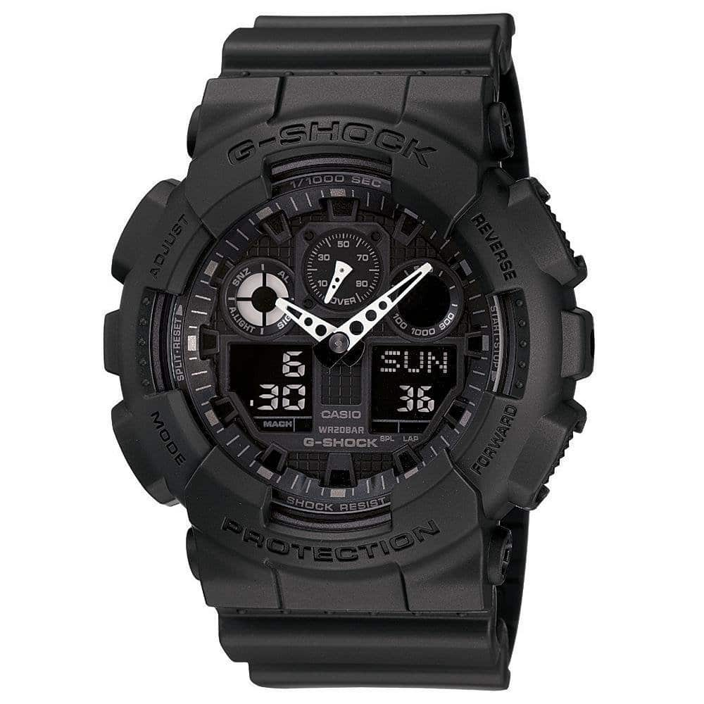 Casio G SHOCK GA 100 1A1 Watch Review