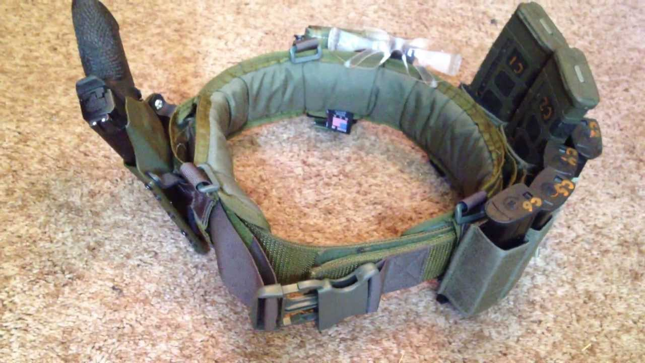 Properly Configure Your Combat Belt