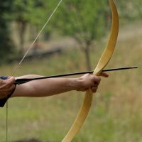 How To Make A Home Bow Without Many Tools