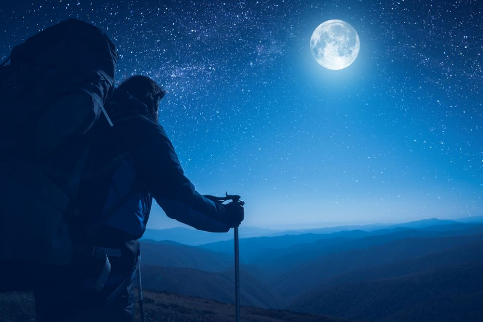 Try Hiking at Night Under the Full Moon