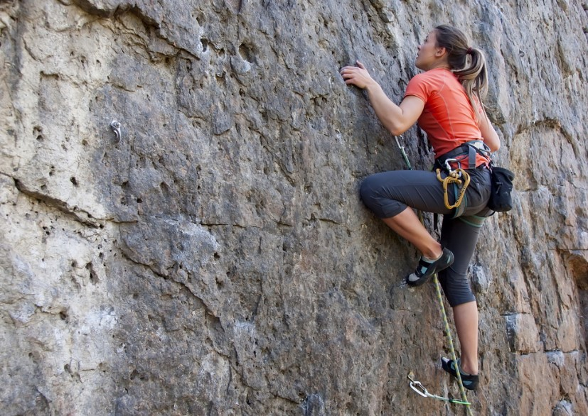 How to Train For Rock Climbing