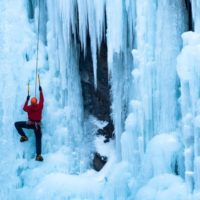 White Mountains Ice Climbing Basics